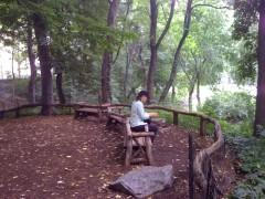My lovely wife, Karen, in Central Park.